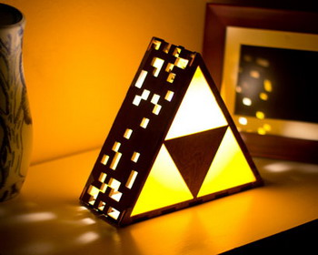 ����� ������������ �Zelda Triforce Lamp�